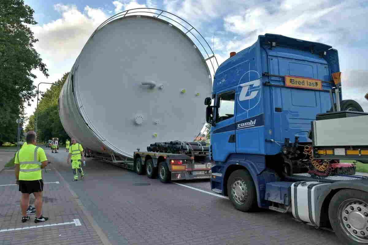 Перевозка крупногабаритных грузов транспортной компанией